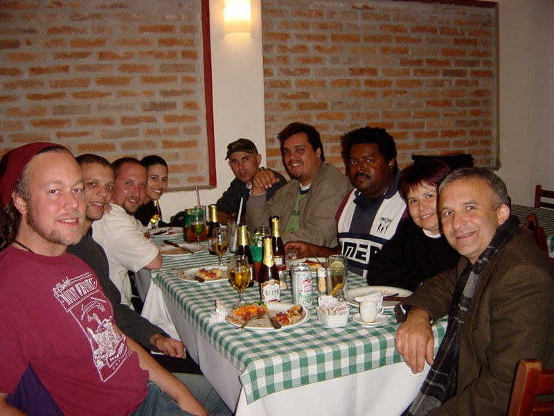 Hands On'Semble and Friends. Sao Paulo, Brazil, 2003