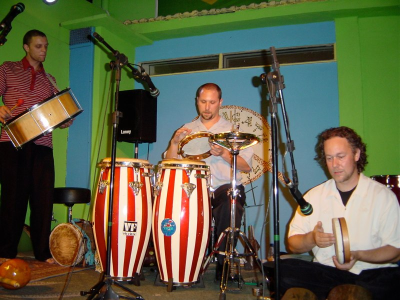 Hands On'Semble concert. Rio DeJaniero, Brazil, 2003
