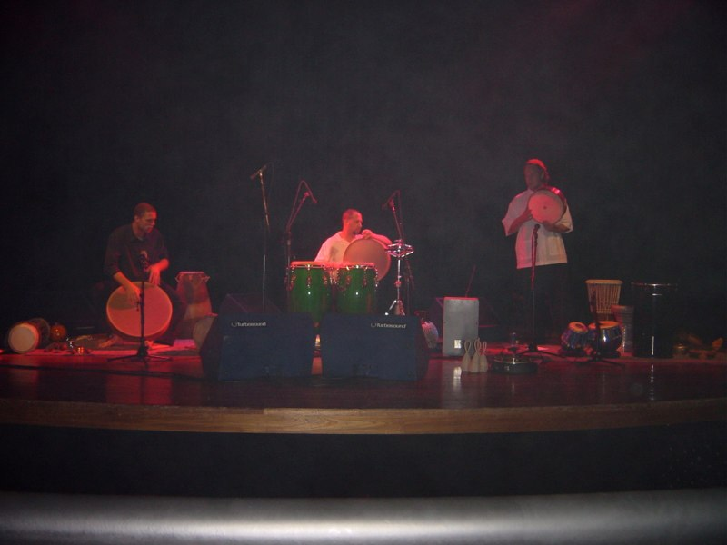 Hands On'Semble concert. Sao Paulo, Brazil, 2003
