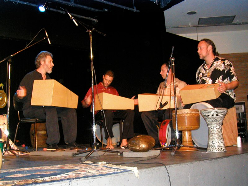 Hands-OnSemble-performing-with-Adam-Rudolph.-Campinas-Brazil-2004