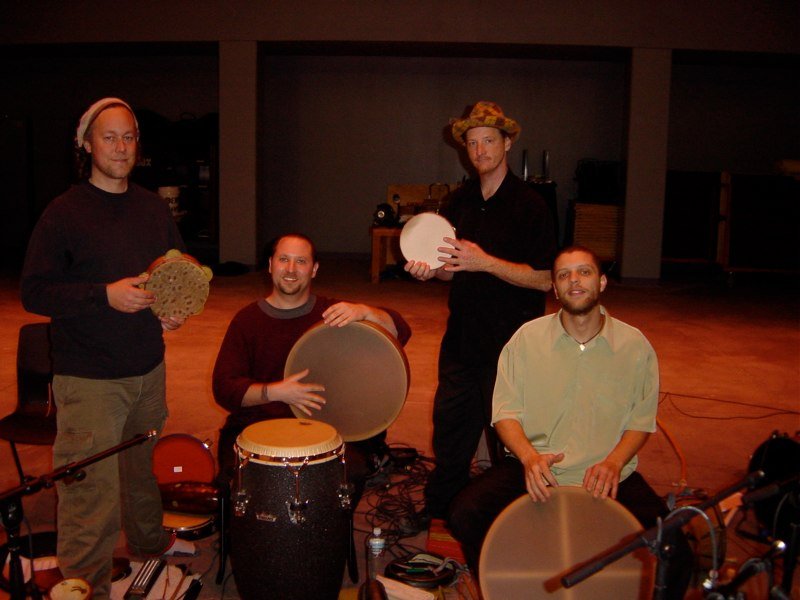 Hands On'Semble with Brad Dutz. Henderson, Nevada, 2004