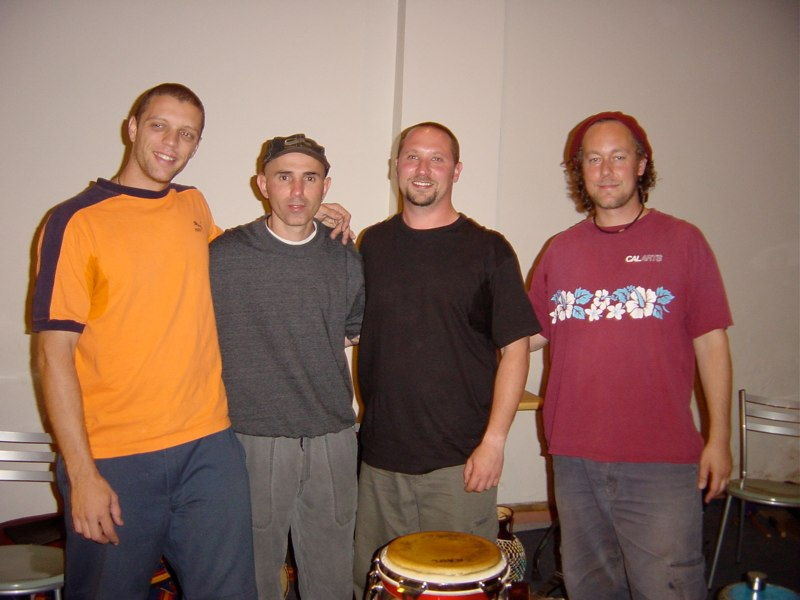 Hands On'Semble with Carlos Stasi. Sao Paulo, Brazil, 2003