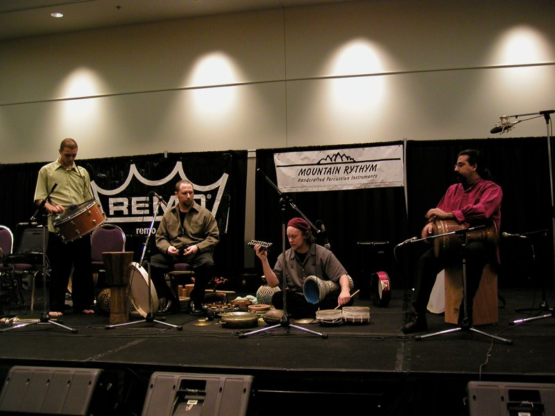 Hands On'Semble with Houman Pourmehdi at PASIC 2003