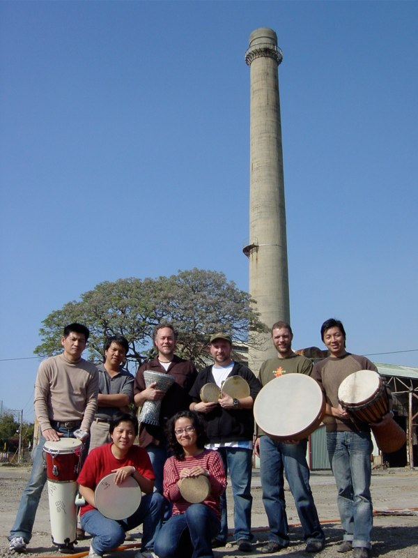 Hands On'Semble with Hsieh Shi and students - Taiwan 2006