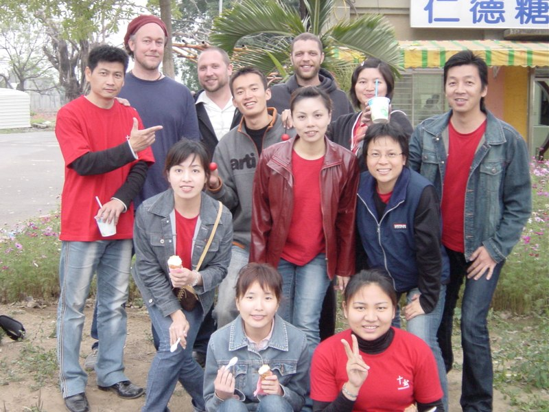 Hands On'Semble with students - Taiwan 2006