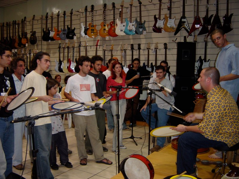 Hands On'Semble workshop. Belo Horizonte, Brazil 2003