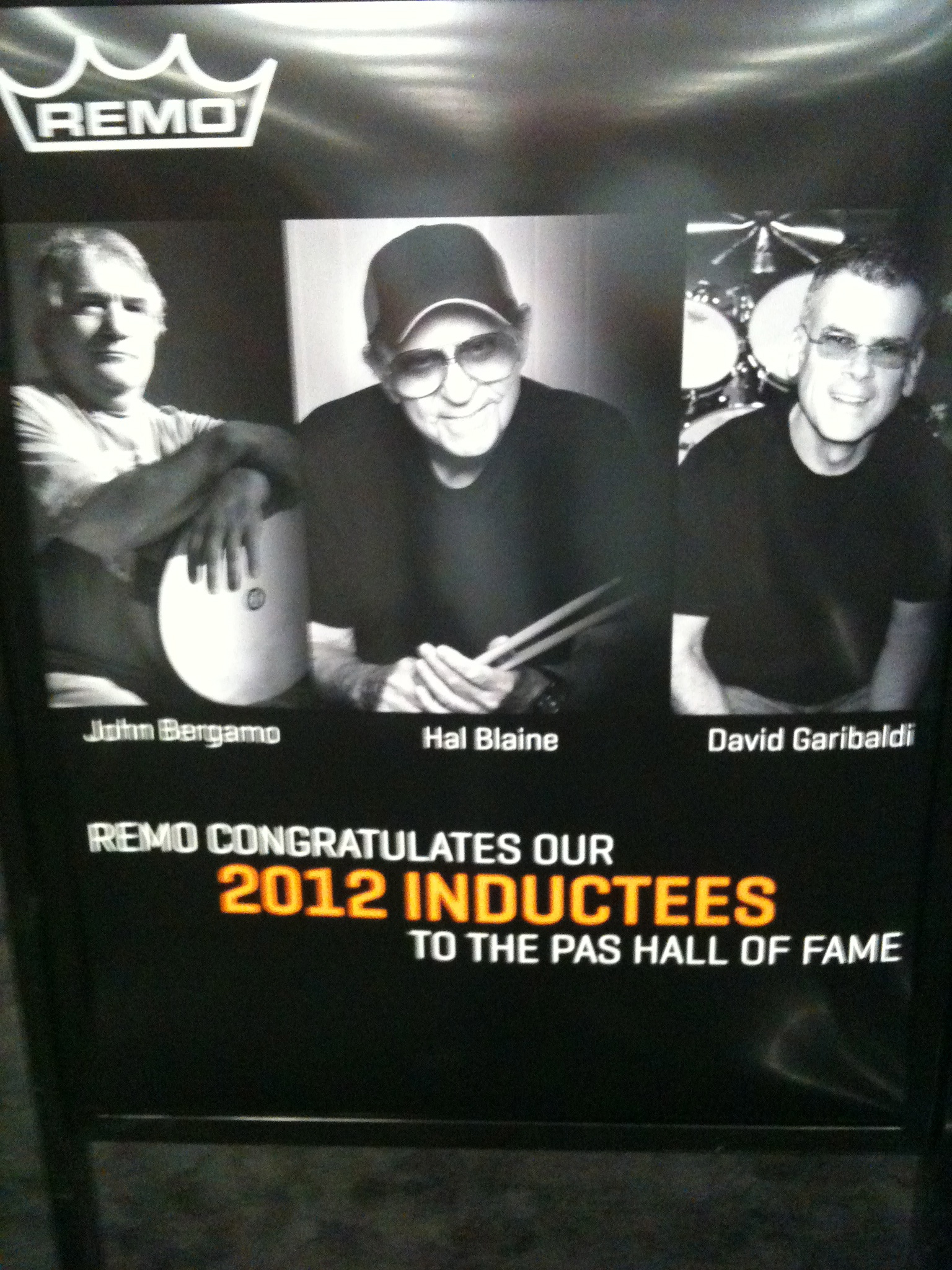 2012 Inductees sign  PASIC 2012 Austin, Texas.