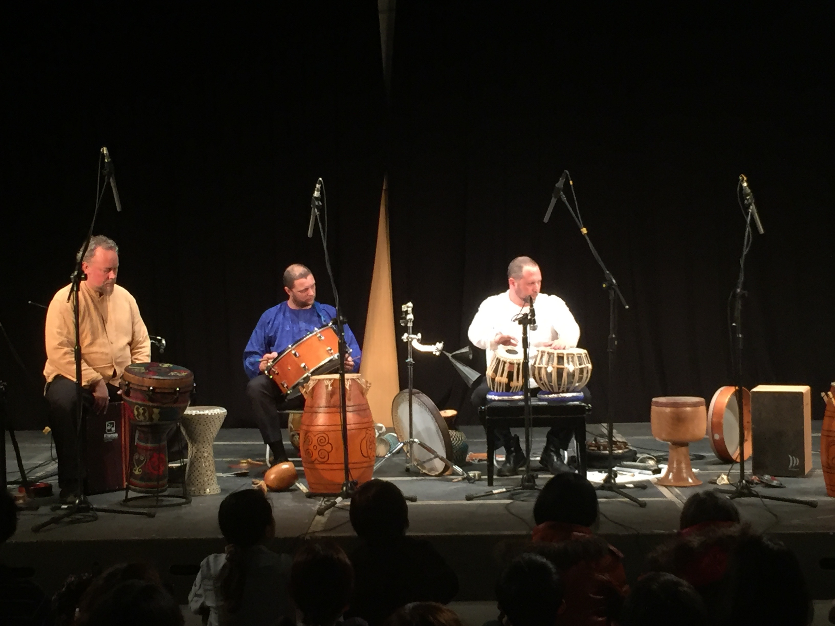 Hands On\'Semble at Ten Drum in Taiwan - February 2016