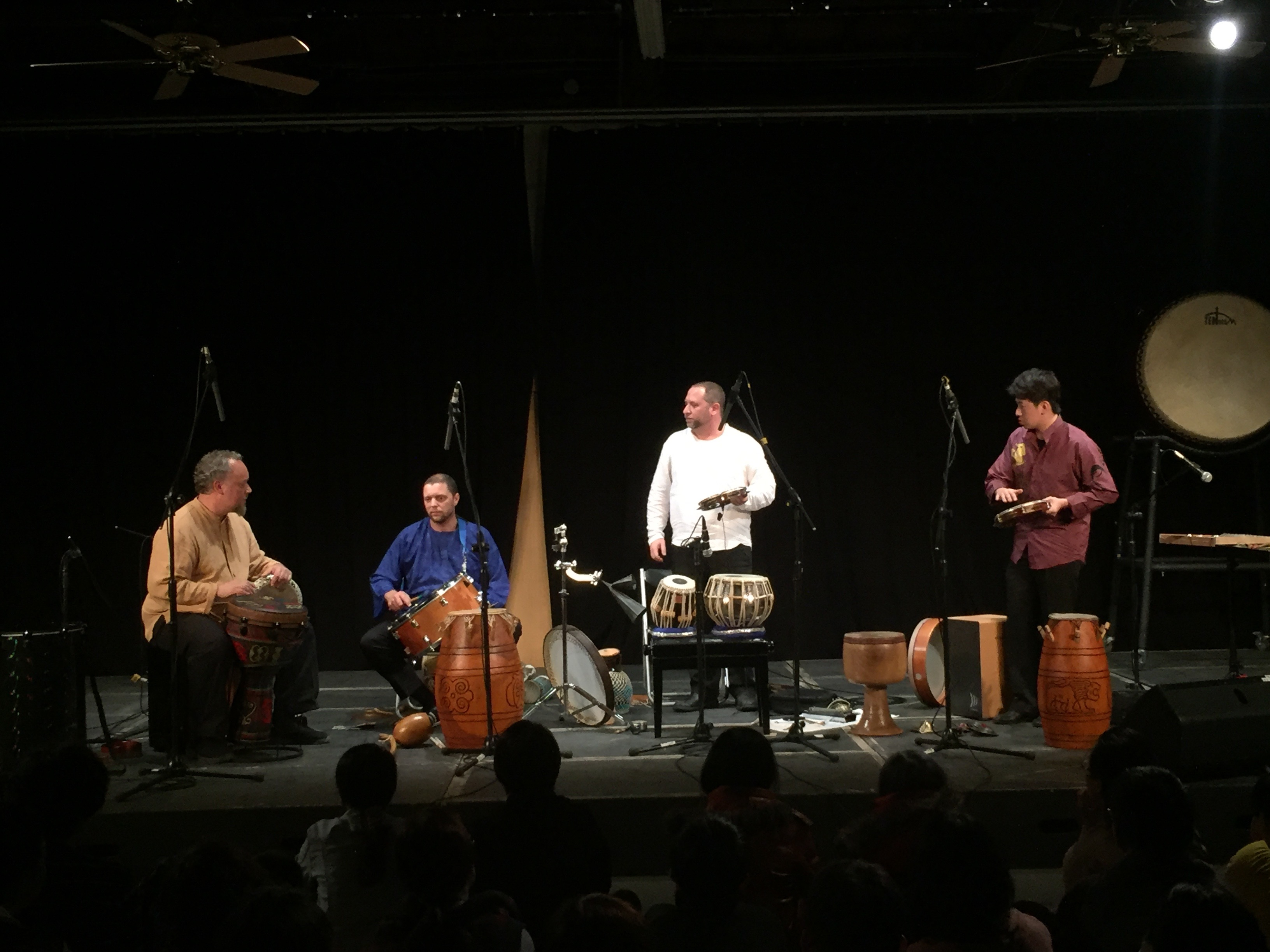Hands On\'Semble at Ten Drum in Taiwan with special guest Andy Cheng February 2016