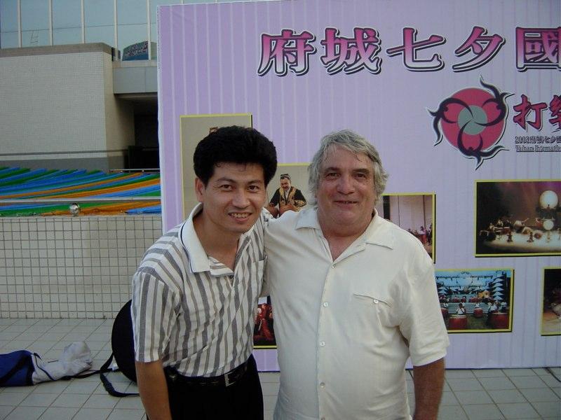 John Bergamo with Kevin Taiwan 2003