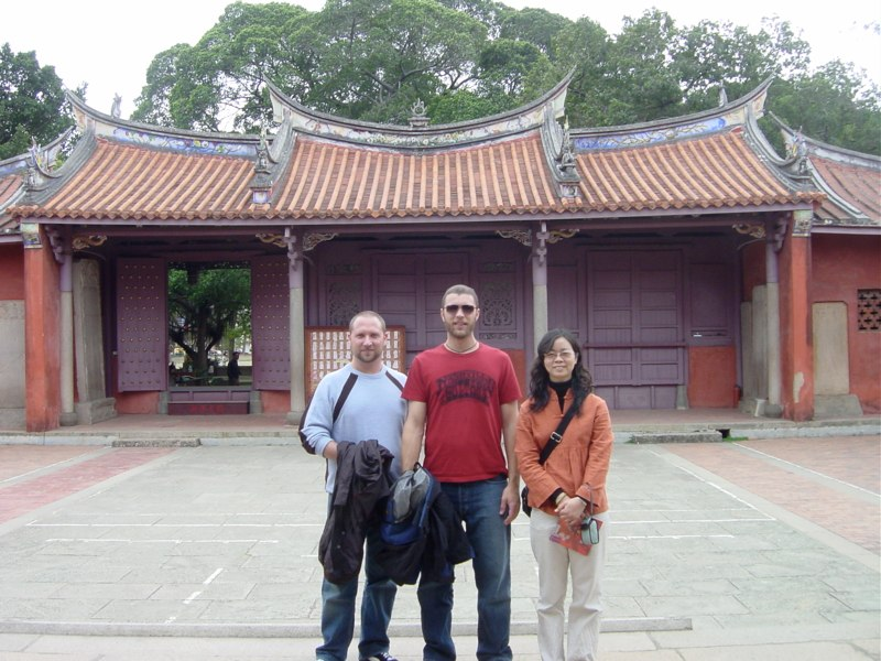 Randy, Andrew, Jesse - Taiwan 2006
