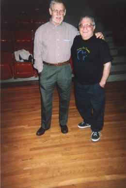 Ray Des Roches and John Bergamo, New York, 2001