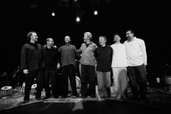 Austin, Randy, Andrew, Adam Rudolph, Guello, Carlos Stasi, Houman Pourmehdi