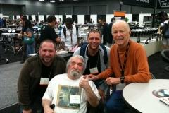 Randy, John, Andrew, Remo PASIC 2012