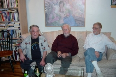 John Bergamo, Jan Williams, and Ray Des Roches. New York, 2003