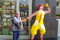 John with Ronald - Taiwan 2003
