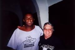Jorge Marciano and John Bergamo, Campinas, Brazil, 2000.