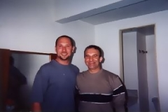 Randy Gloss and Guello, Campinas, Brazil, 2000