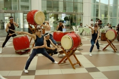 Taiko group fron Japan. Taiwan 2003