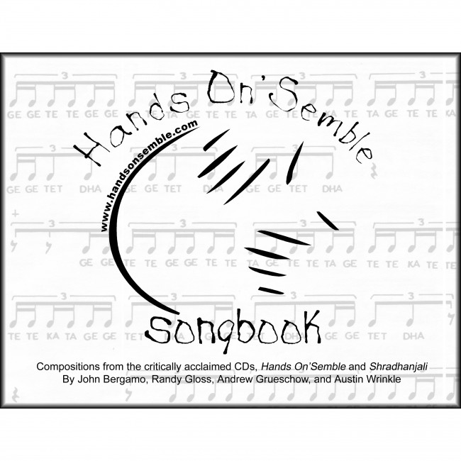 Hands On'Semble songbook cover